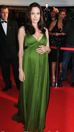 v-neck-empire-chiffon-floor-length-green-angelina-jolie-maternity-dress-oscar_650x650px